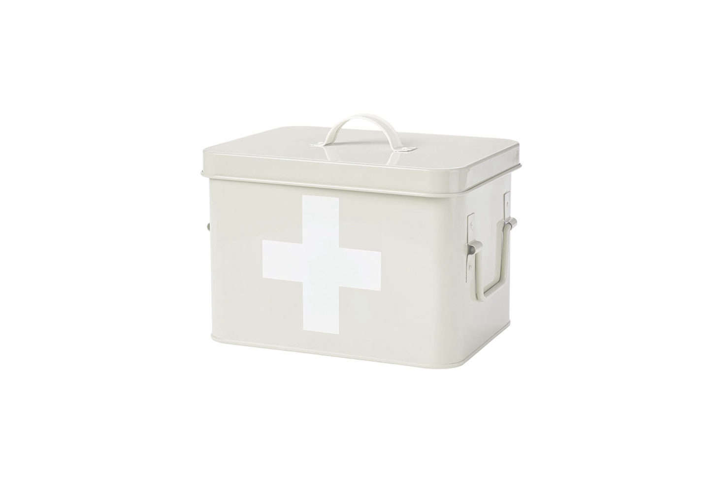 The Andrew James First Aid Box(£12.00), In A Vintage Cream Color