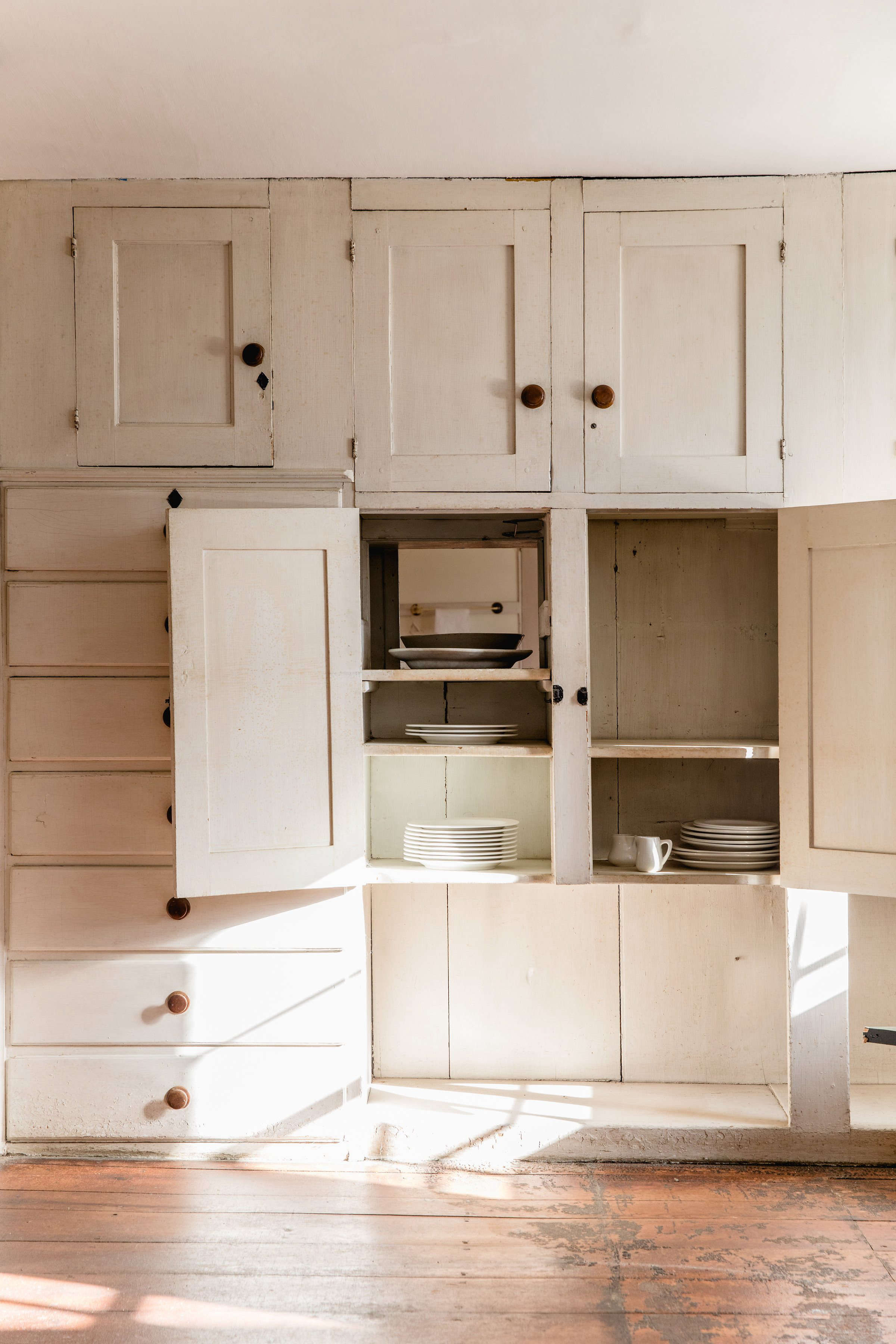 Cabinetry at Canterbury Shaker Village, Photo by Erin Little
