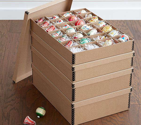 Archival Ornament Storage Box From The Container Store