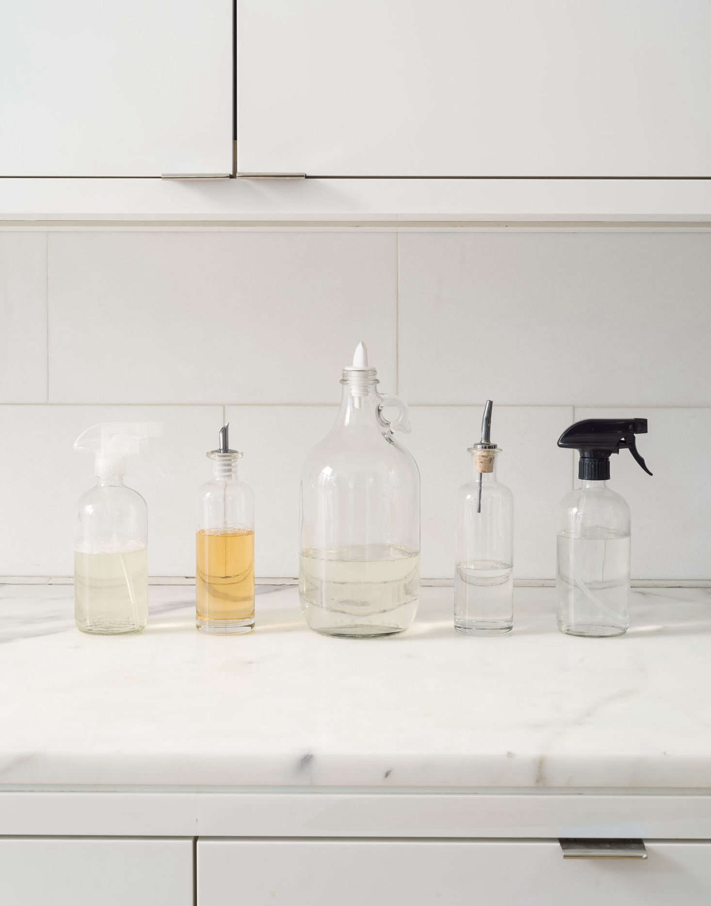 Decanted Kitchen Cleaning Products Photo By Matthew Williams Styling Alexa  Hotz