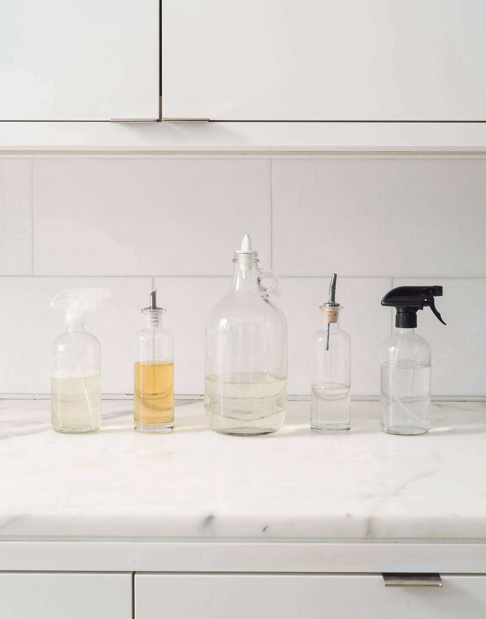 The Organized Sink: 3 Rules for Decanting Kitchen Cleaning ...