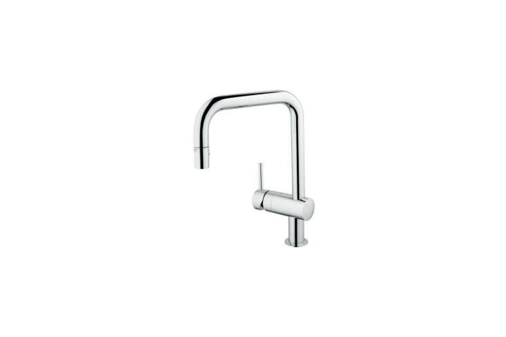 The Minta Single-Handle Pull-Down Kitchen Faucet by Grohe is $331.98 on Amazon.