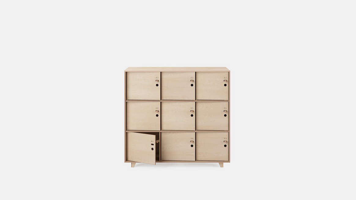The Ordered Office: Modular Plywood Storage from Opendesk - The