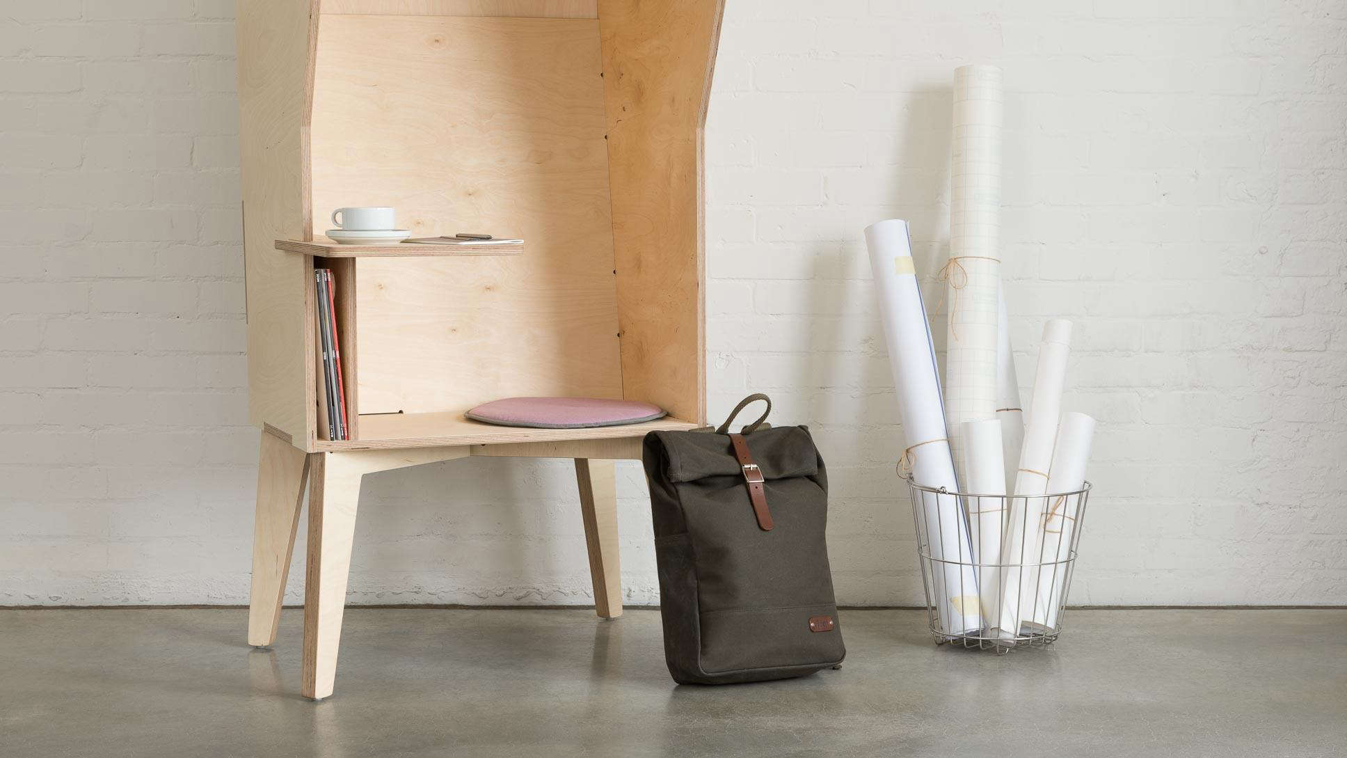 The Ordered Office: Modular Plywood Storage from Opendesk