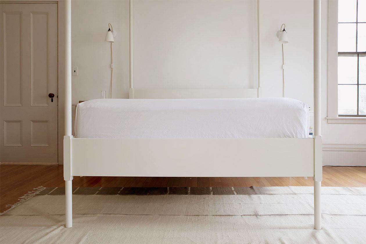 bedmaking square corners