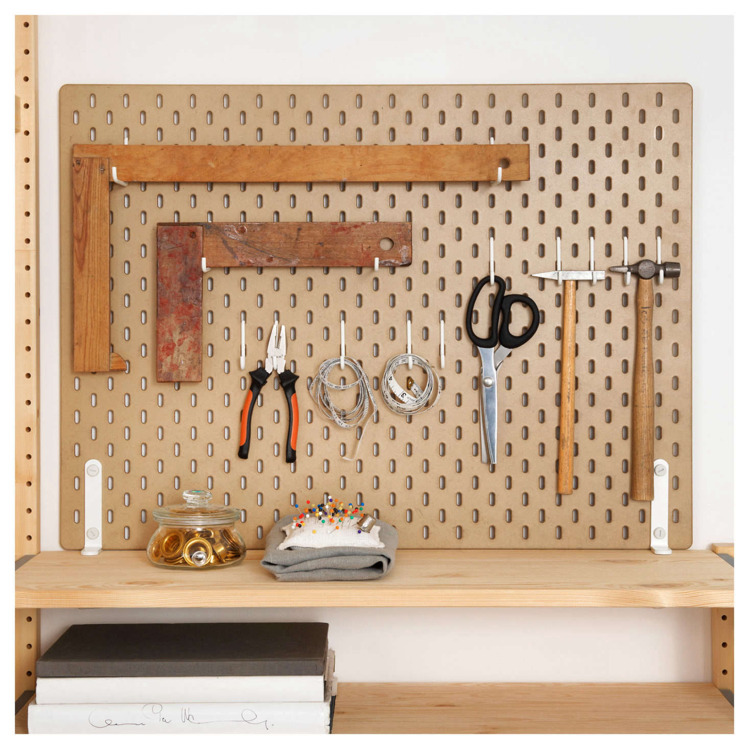 News You Can Use Ikea S Sk 229 Dis Pegboards Now Available In