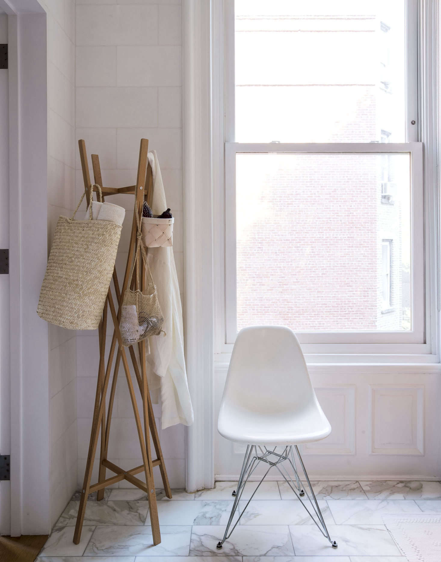 Coat Rack In Bathroom By Matthew Williams For Organized Home Book