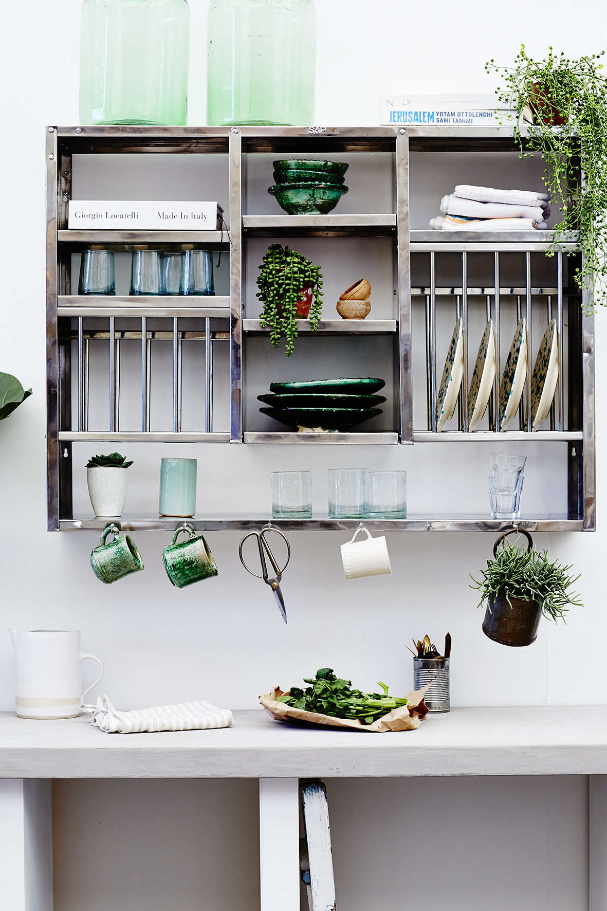 Indian stainless steel kitchen dish racks and shelves from ...