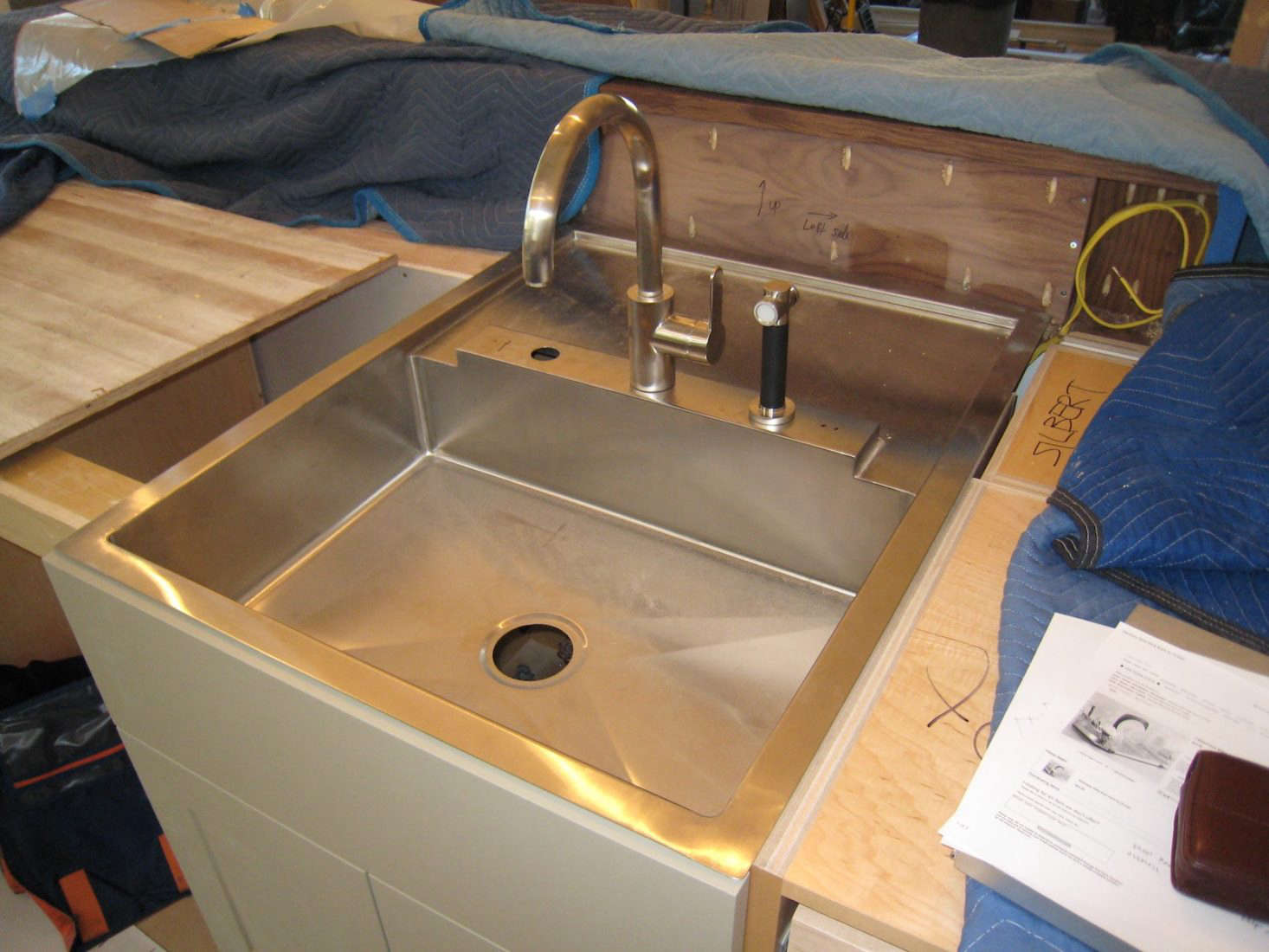 Kitchen Sink Drain Rack Aha hack a behind the sink dish drying rack the organized home buttrick rockridge sink install workwithnaturefo