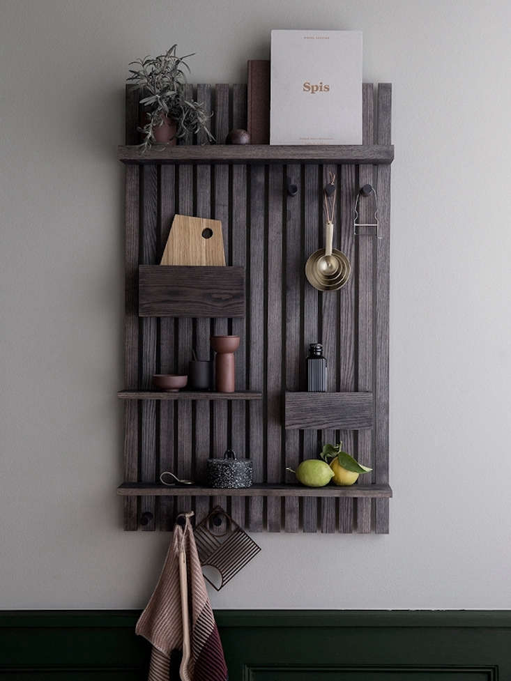 Object Of Desire A Wood Wall Organizer From Ferm Living