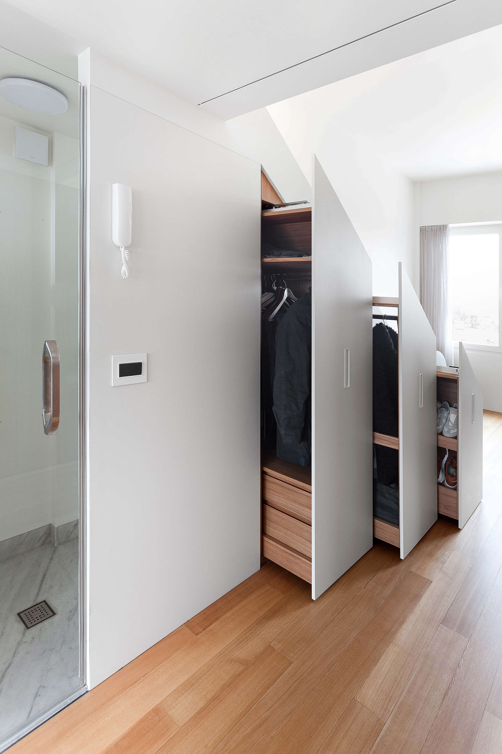 The Secret Apartment A Hyper Efficient Moscow Flat With