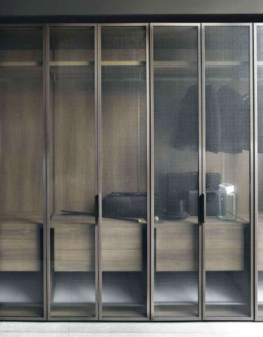 Boffi Modern Italian Closet With Screens