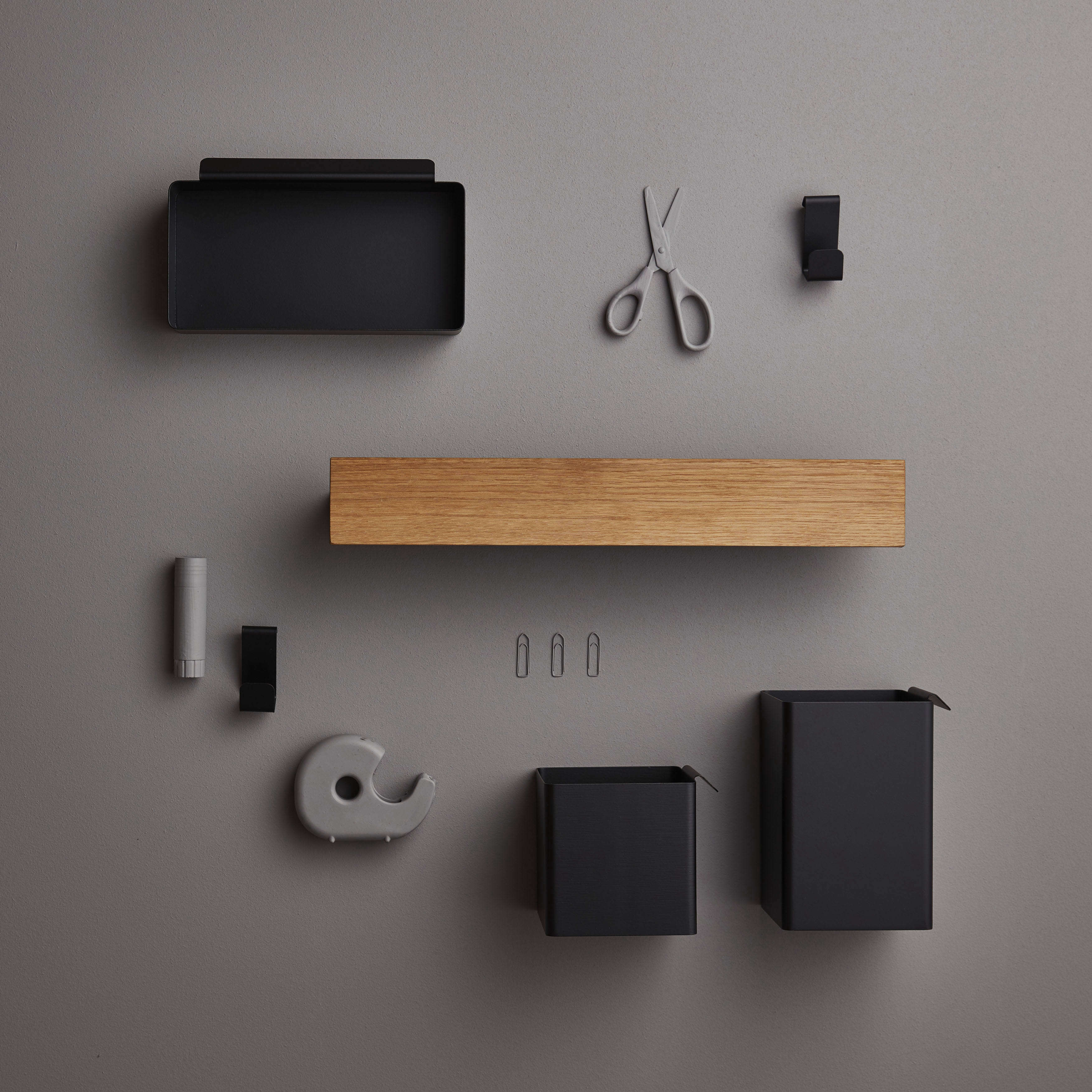 Gejst Flex system shelf and add-on components.
