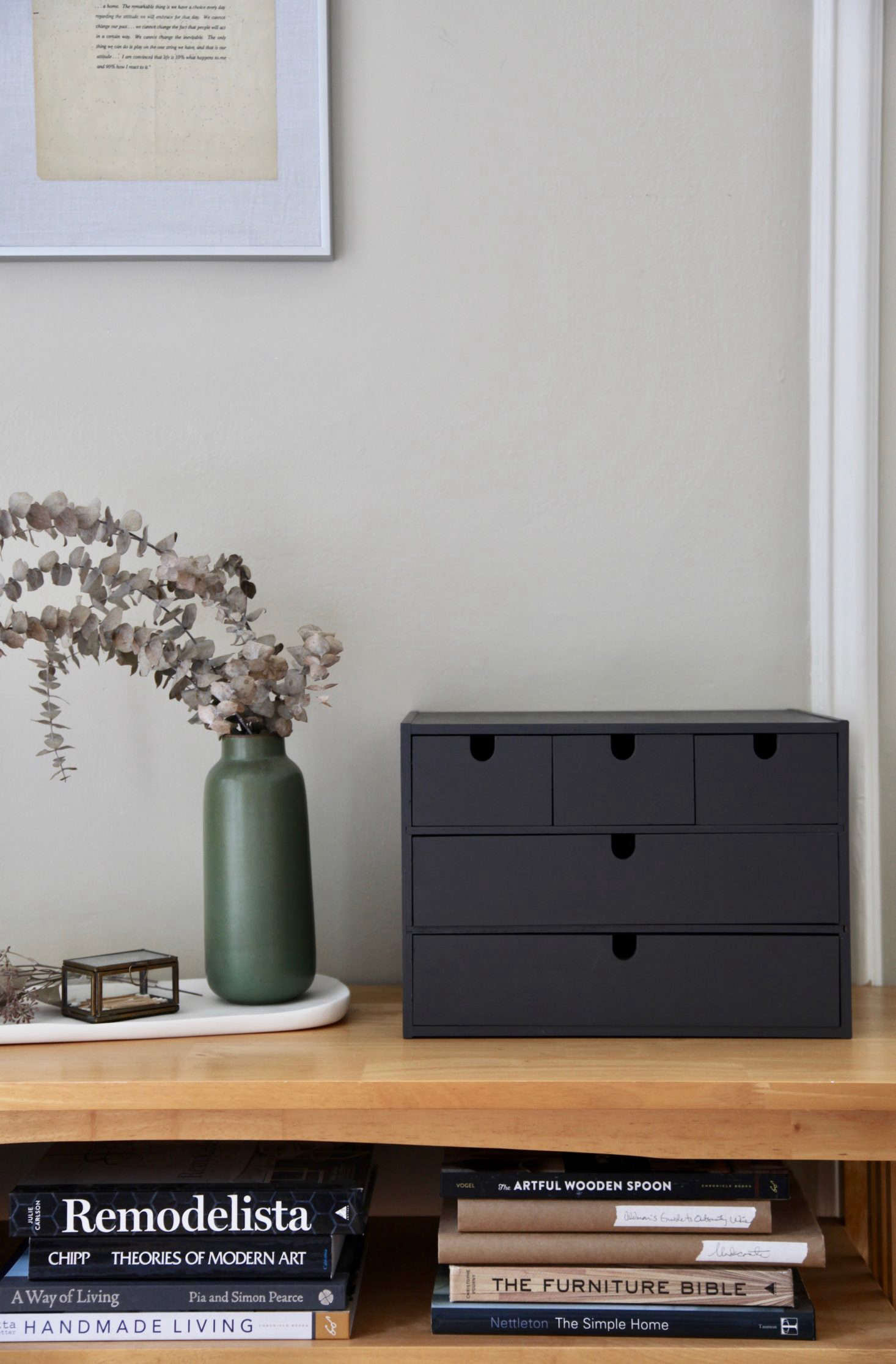 ikea hack: repurposing the moppe storage chest as a spice cabinet