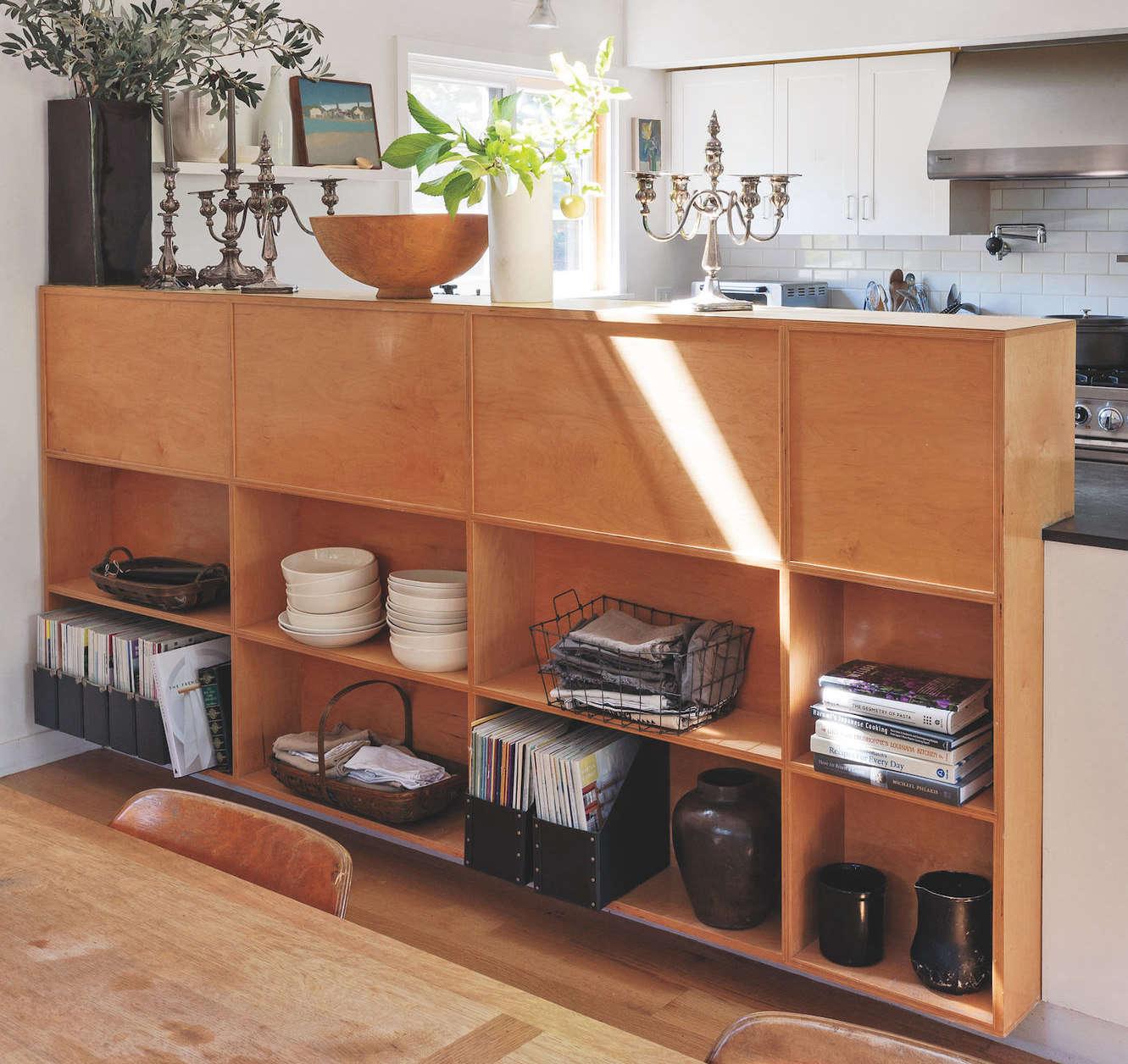Semi Open Kitchen Designs: Aha! Design: An Ingenious Semi-Open Kitchen In Mill Valley
