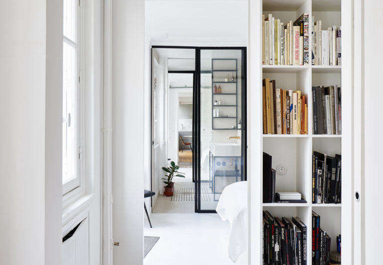 When Septembre Architecture Arrived On The Scene Of A 645 Square Foot  Apartment In The Hip 11th Arrondissement Of Paris, The Space Had Too Many  Wallsu2014surely ...