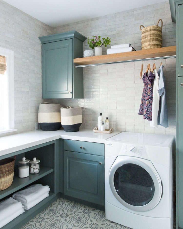 Before/After: A Luxe Laundry Room by an Instagram-Famous Design Duo, Plus How to Steal the Look