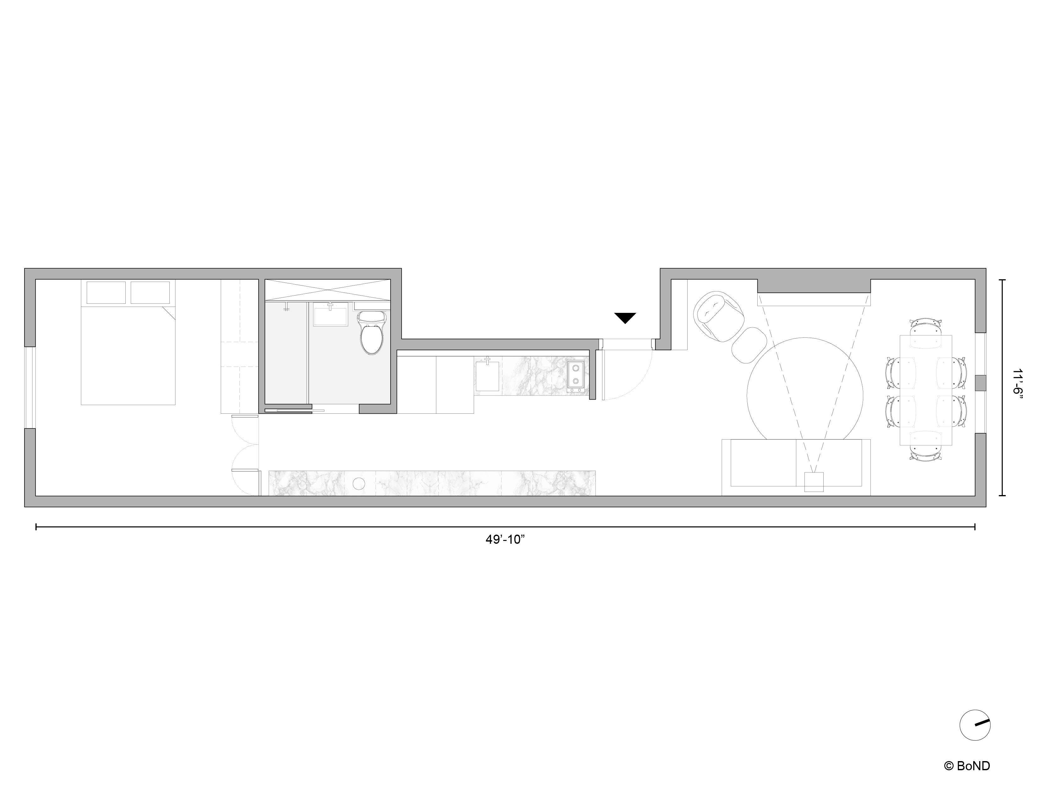 BoND Chelsea Apartment Plan After