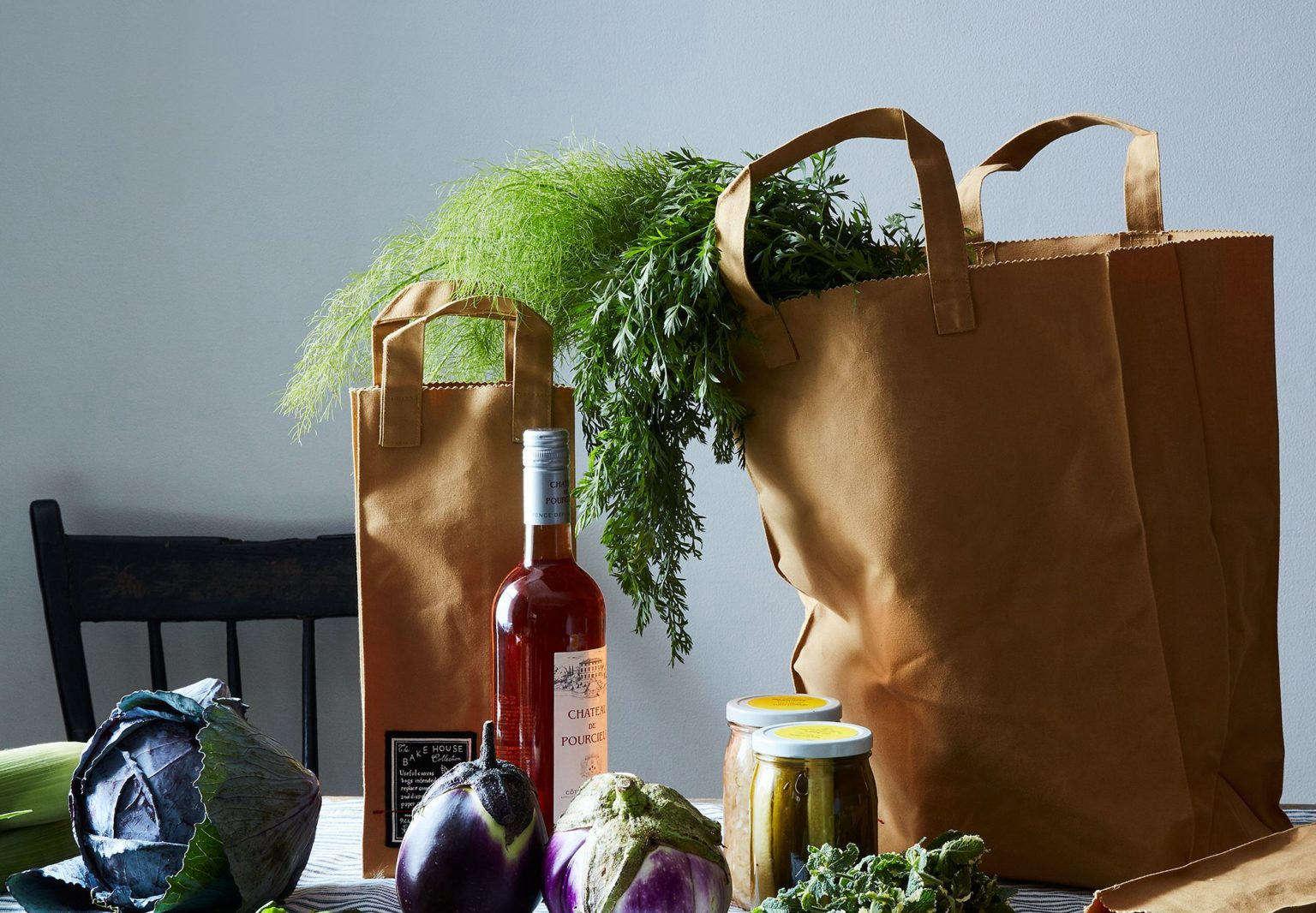 Peg and Awl Bake House Market Bags