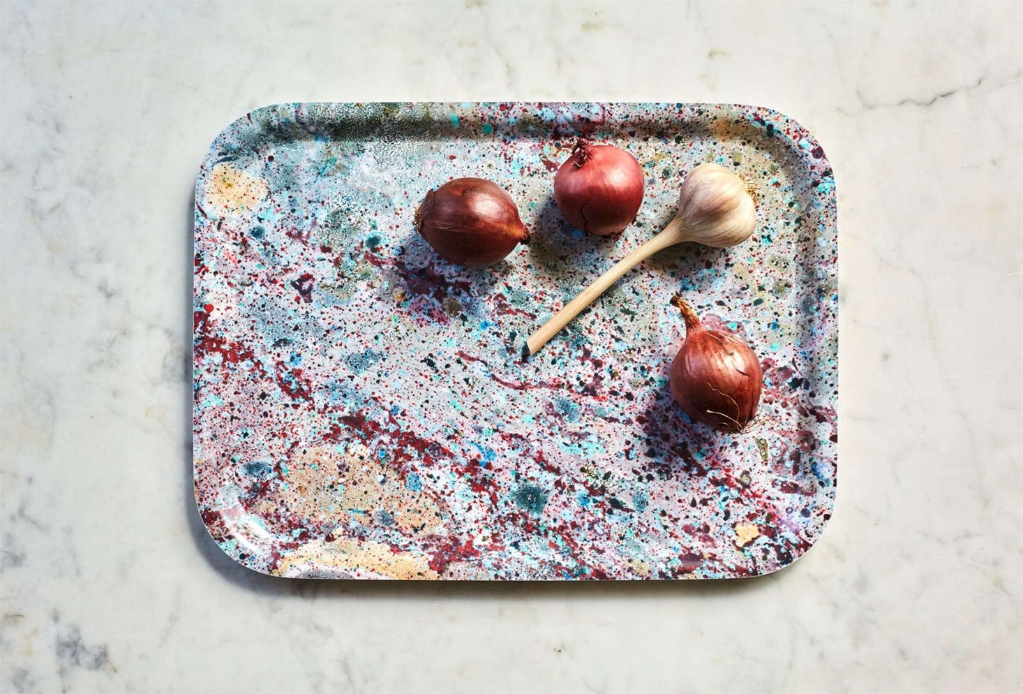 Julie Discovered Jewel Toned Marbelized Trays From Swedenu0027s Studio Formata  That Would Be Perfect For