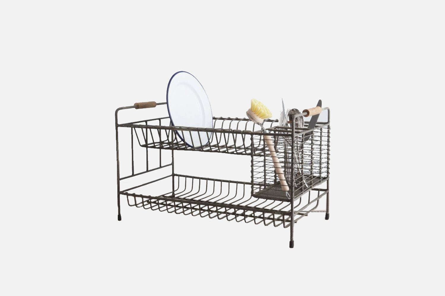 10 Easy Pieces Space Saving Dish Racks For Small Kitchens