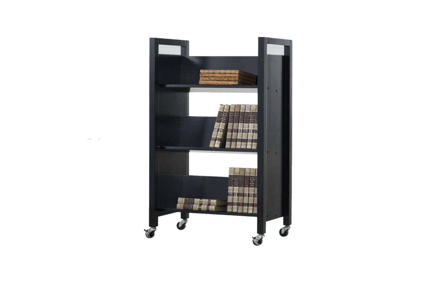 Acme Furniture Bookshelf Cart Black