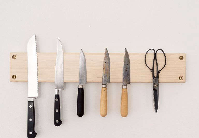 Knife Rack by Matthew Williams for The Organized Home Book