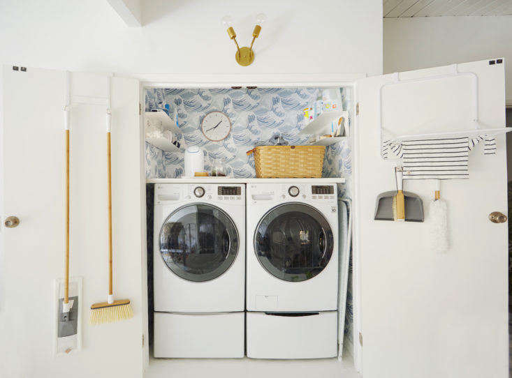 Steal This Look: A Design Darlingu0027s Clever Laundry And Utility Closet
