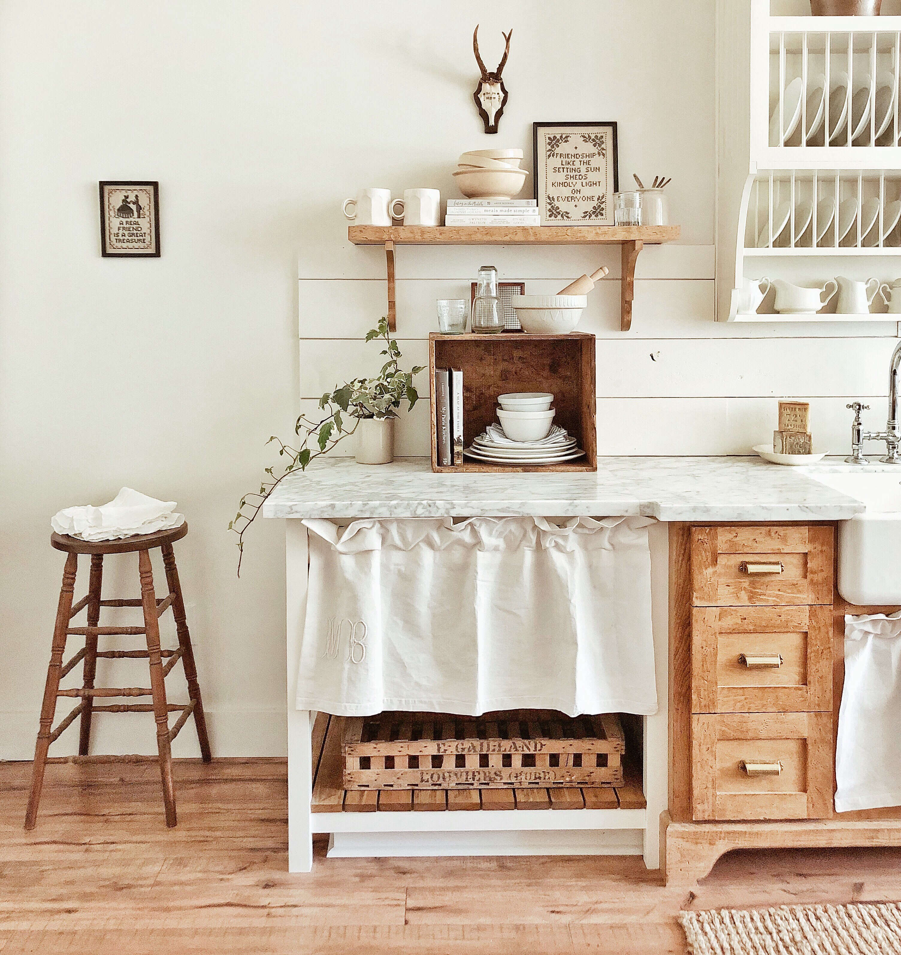 A Closer Look at Whitetail Farmhouse, This Year's Best Kitchen Organization Project