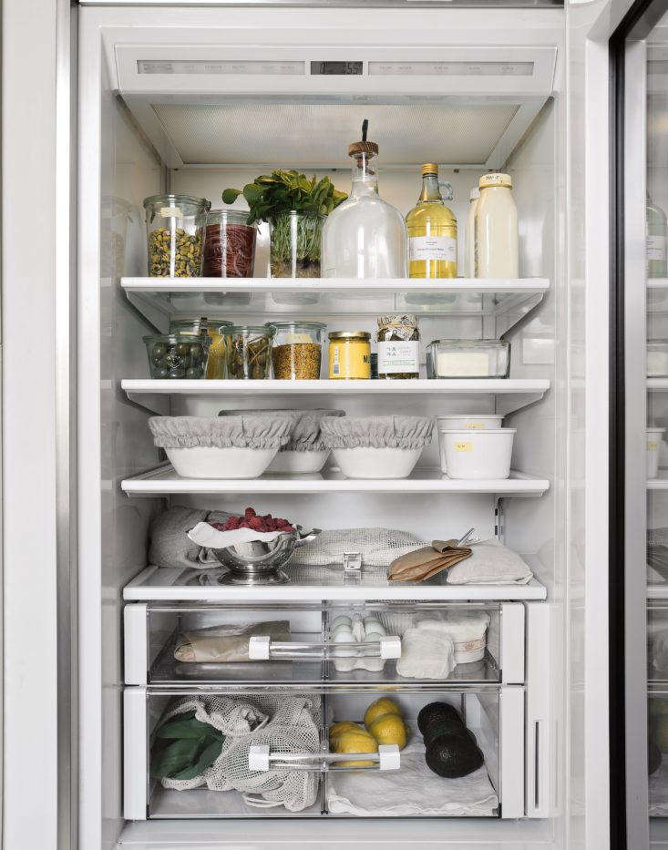This image appears in our book, Remodelista: The Organized Home, in the chapter on kitchens.