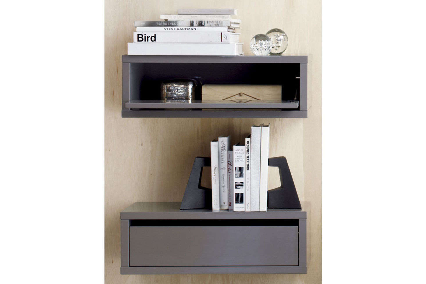 Exceptional CB2 Slice Wall Mounted Storage Shelf