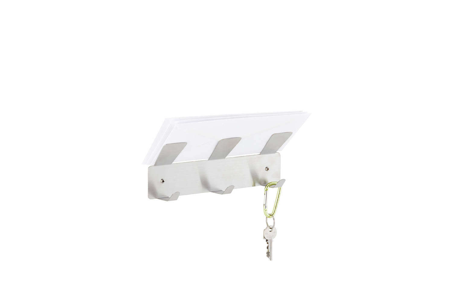 Three by Three Stainless Hook Up Wall Hooks