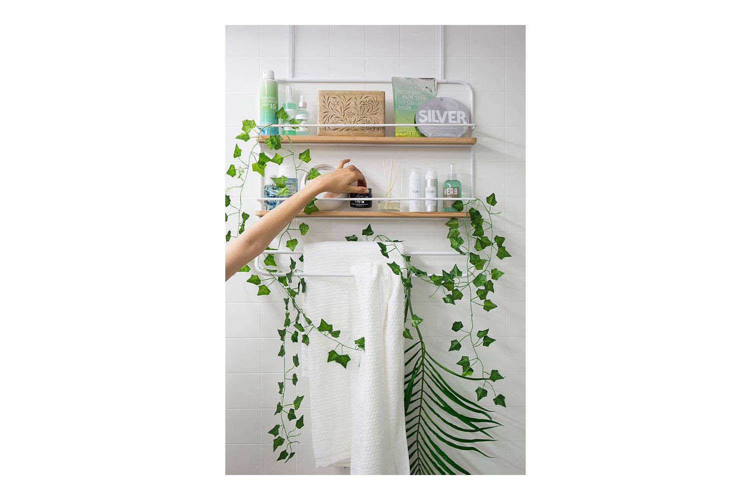 Urban Outfitters Over the Door Tiered Storage Rack