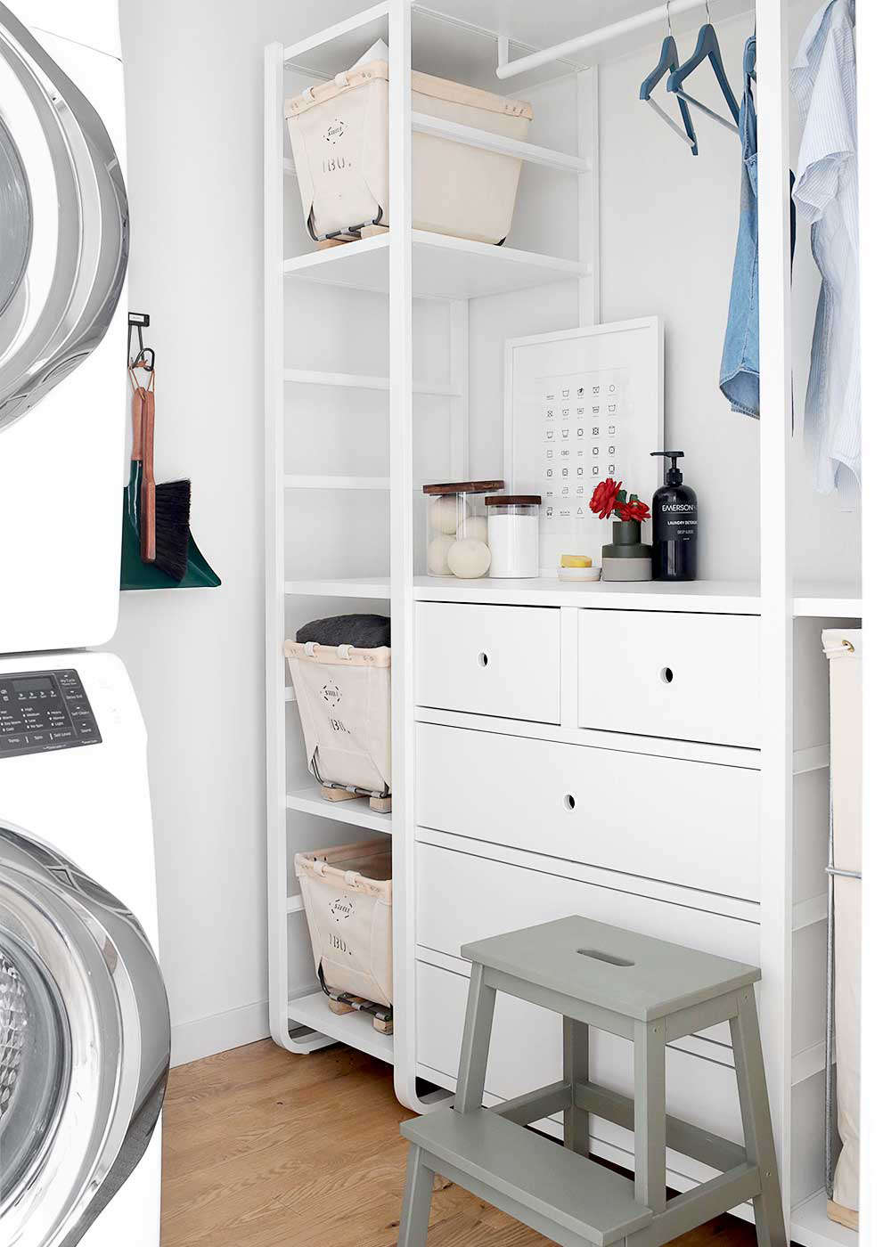27 Favorite Laundry Rooms with Storage Ideas to Steal