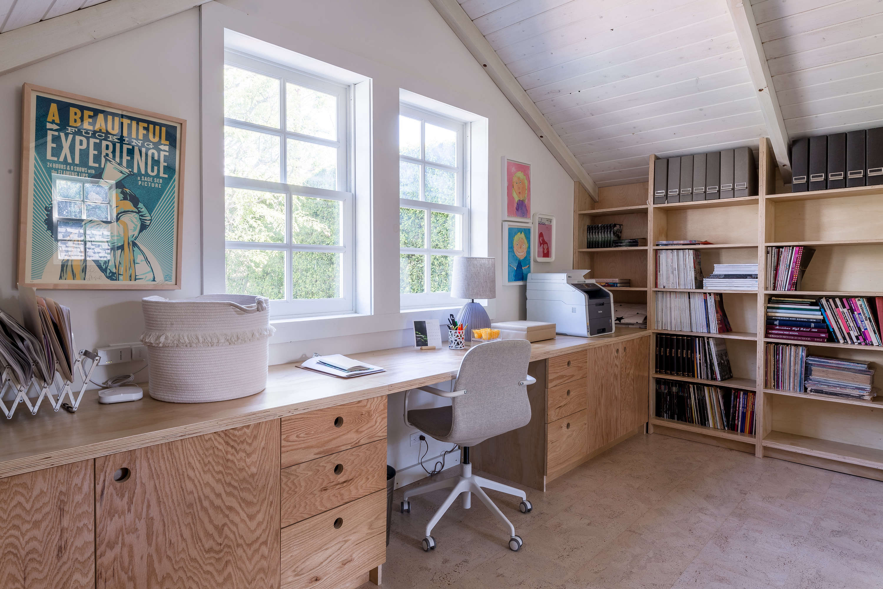 Christine Lennon Guest Barn Home Office, Image by Stephen Paul and Paul Anderson