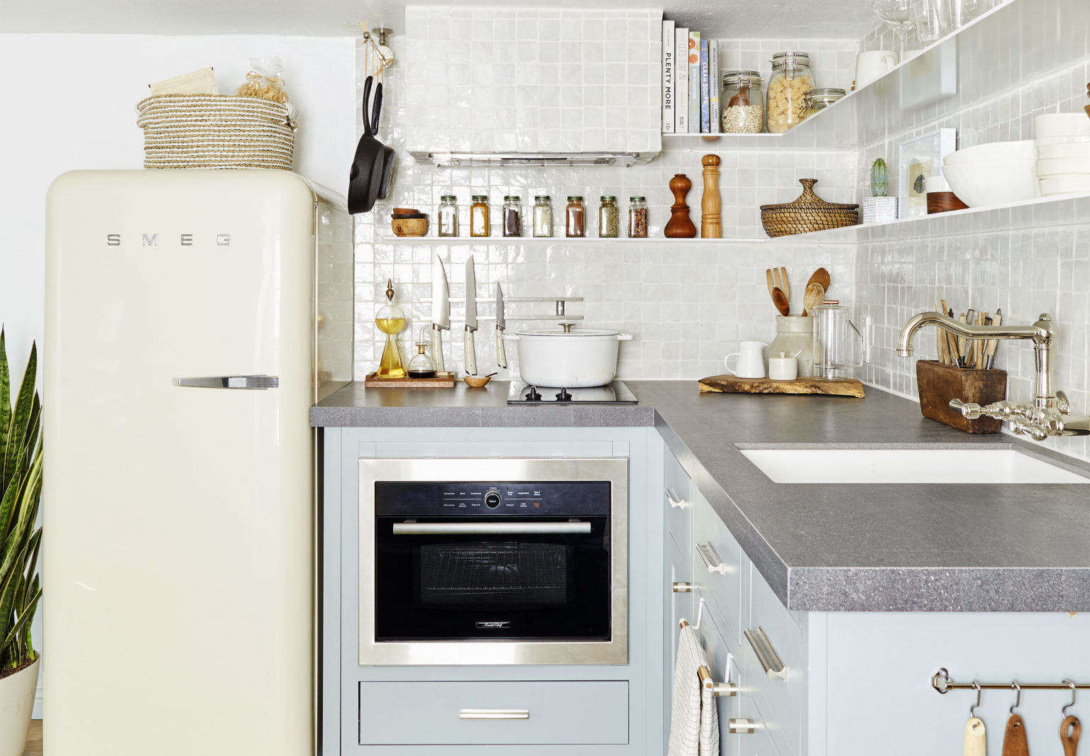 Supersized Storage in a Tiny Kitchen: 7 Game-Changing Aha! Hacks