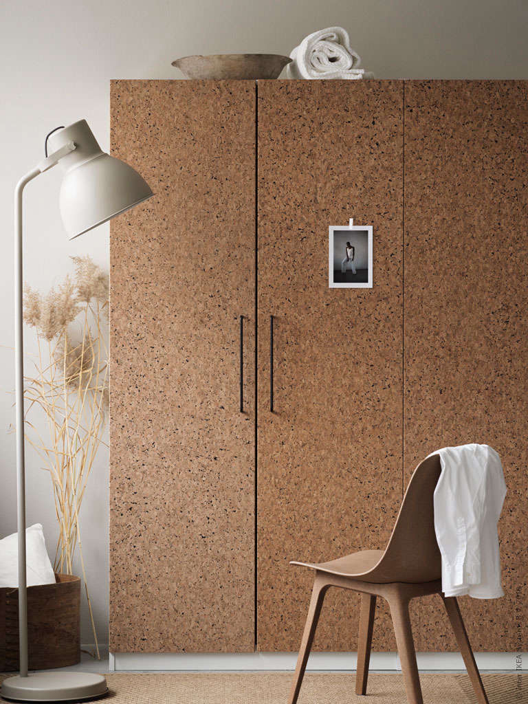 New To Ikea The Earth Friendly Cork Doors We Can T Stop