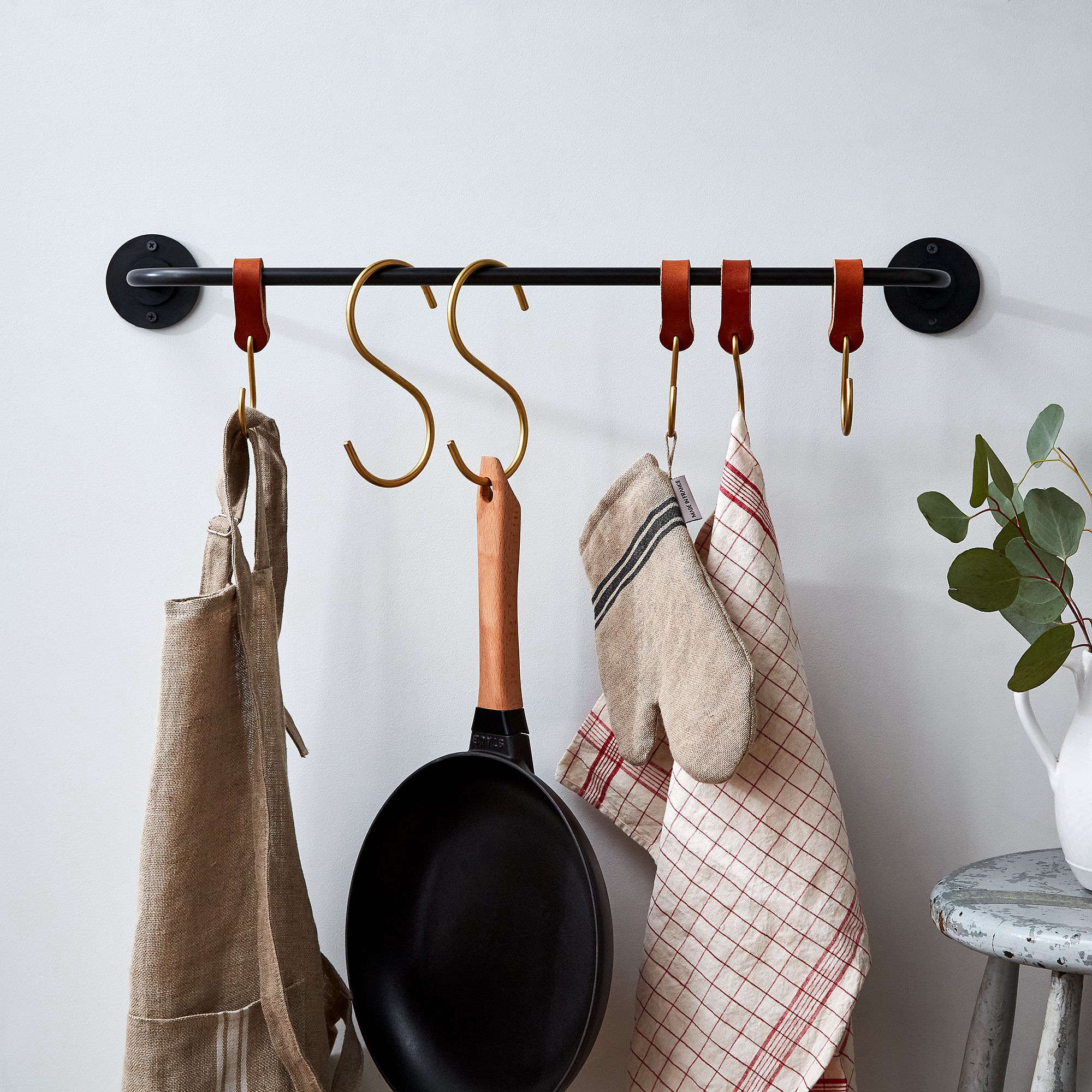 Lostine American Made Iron Pot Rack at Food52