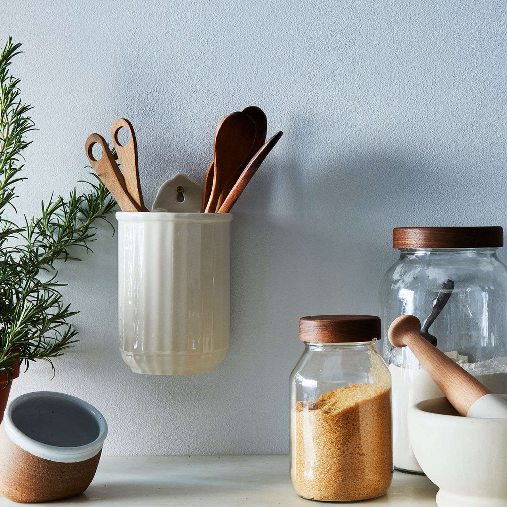 Sir/Madam Fluted Wall Utensil Crock at Food52