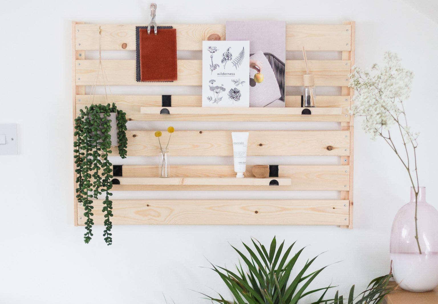DIY Ikea Hack: A Genius Wall-Mounted Wooden Organizer