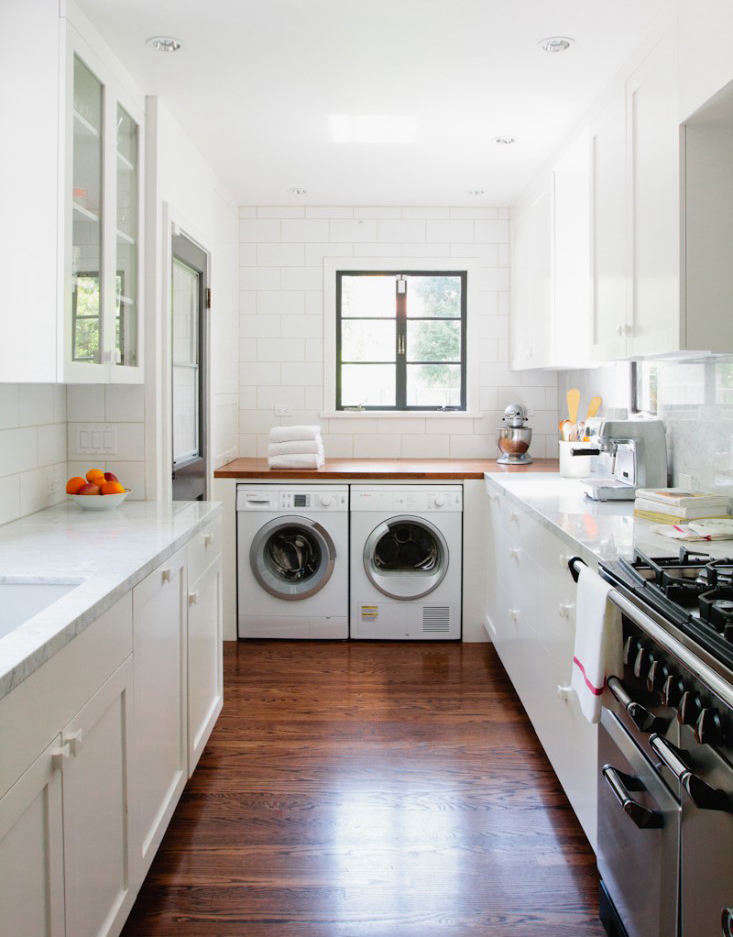 No Laundry Room? 7 Ways to Sneak a Washer/Dryer Into the Kitchen