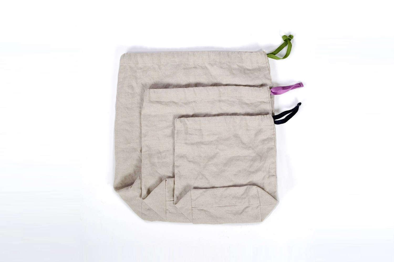 Bulk Shopper Kit Linen Reusable Bags