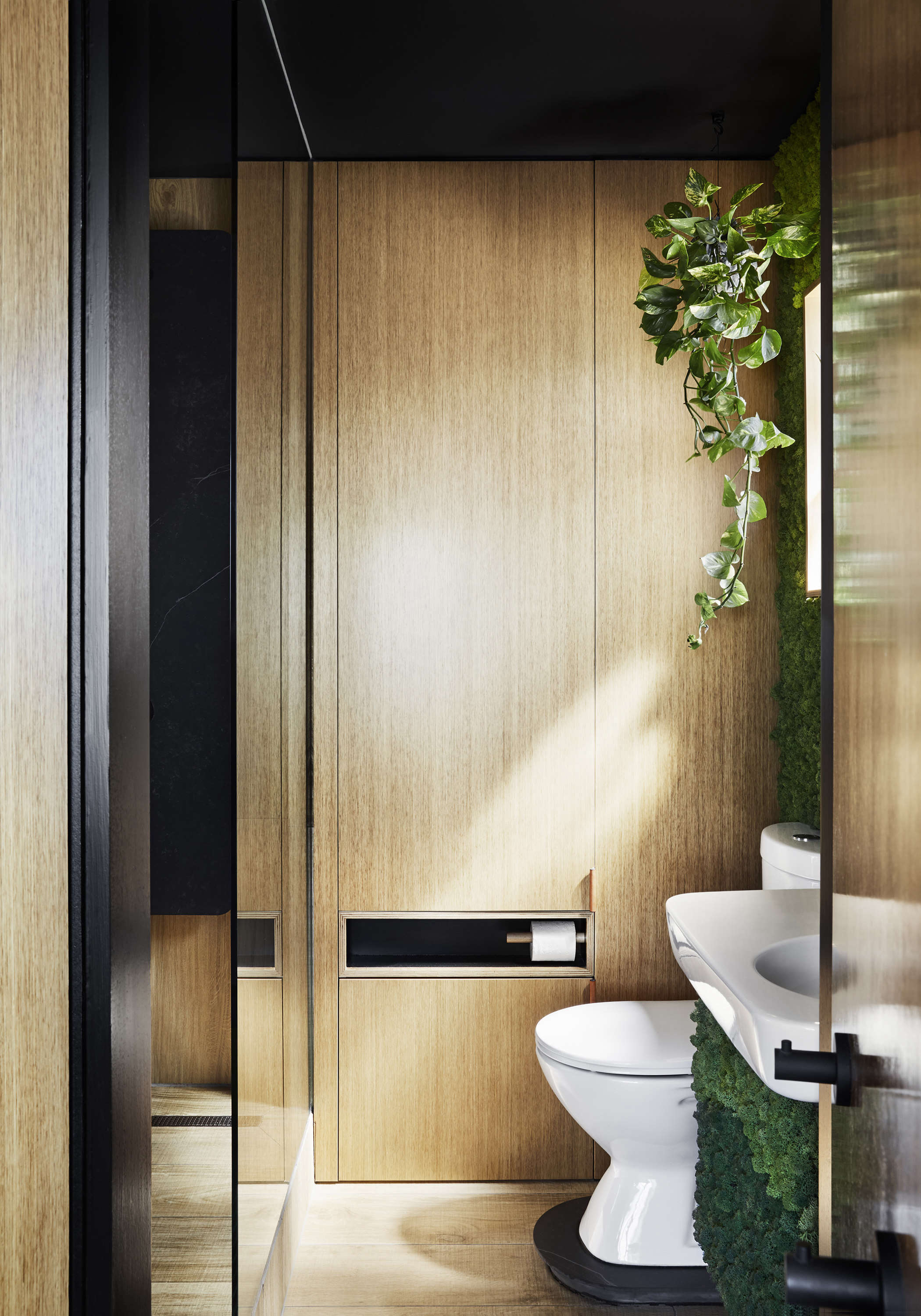 Tsai Design Type St. Apartment in Melbourne Bathroom