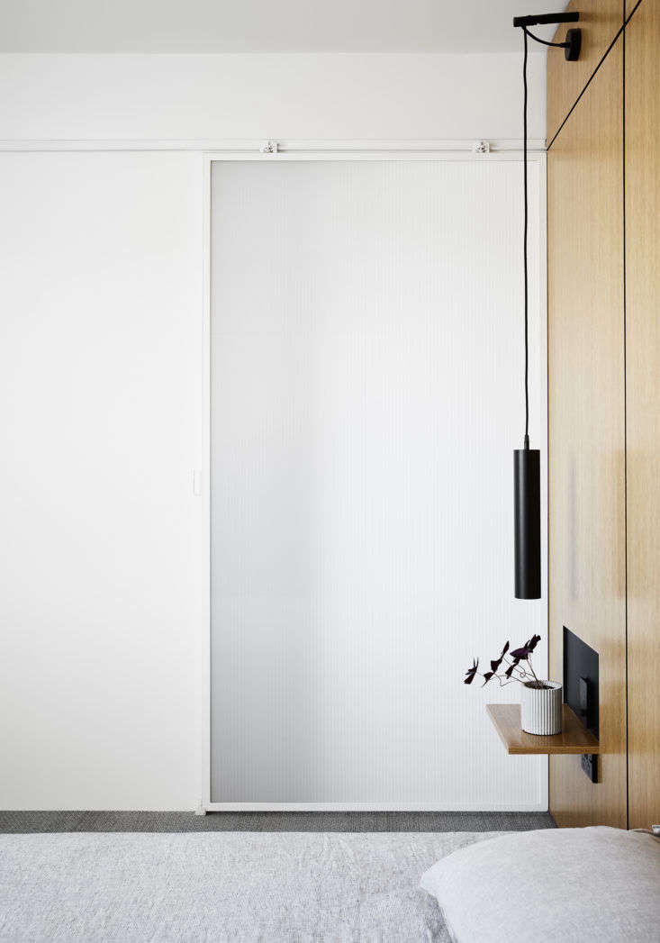Tsai Design Type St. Apartment in Melbourne Bedroom Door