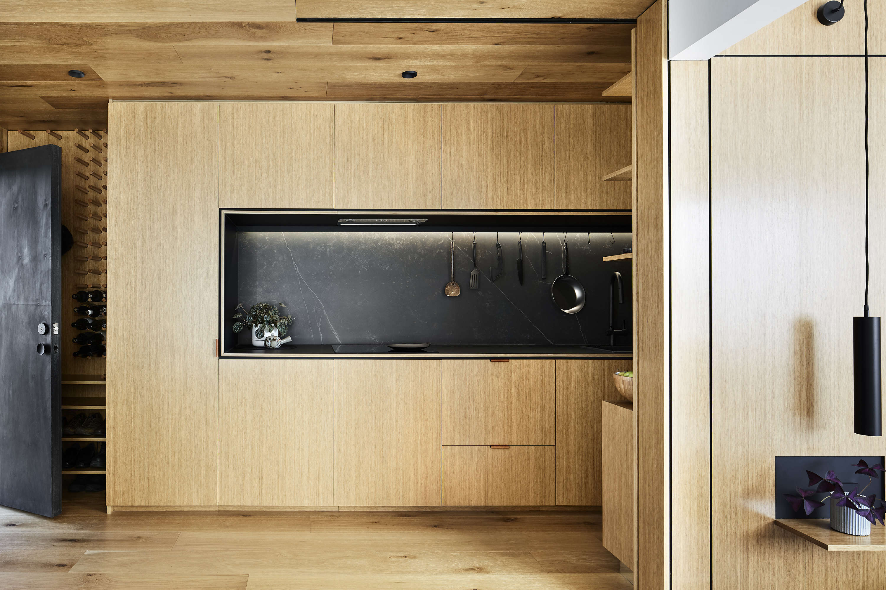 Tsai Design Type St. Apartment in Melbourne Kitchen