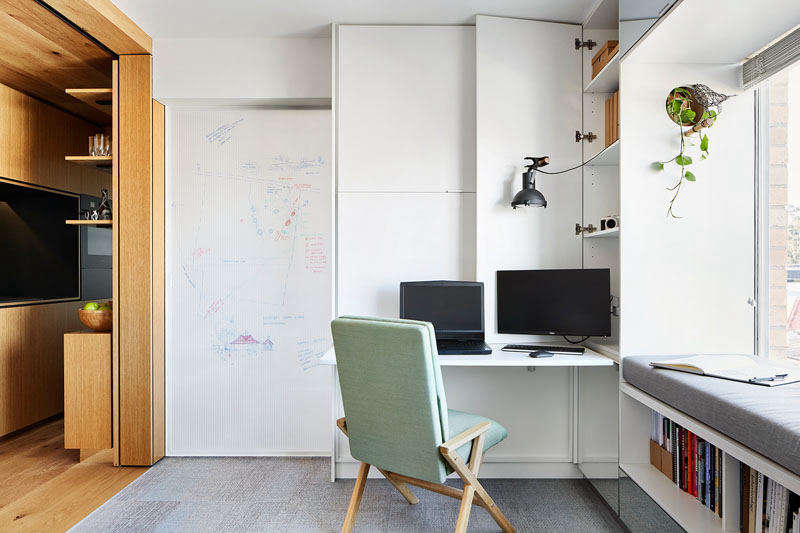 Tsai Design Type St. Apartment Melbourne Whiteboard