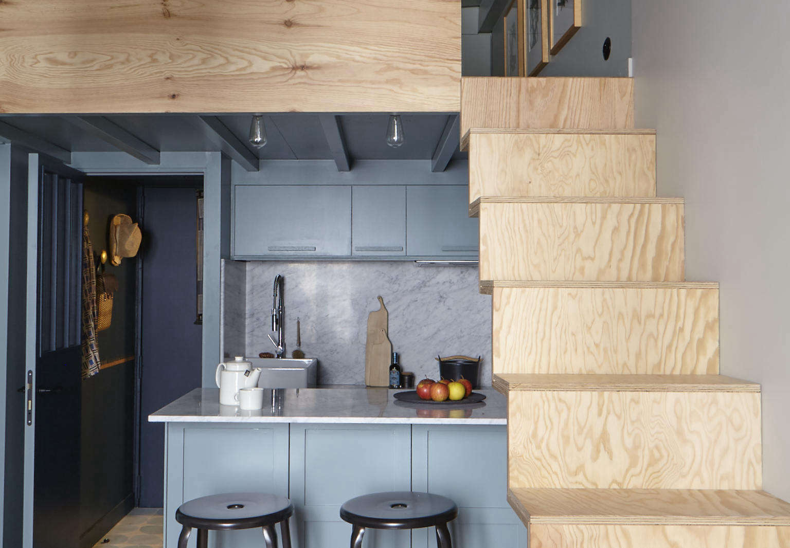Neat Petite Chic Storage In A Tiny Parisian Flat The Organized Home