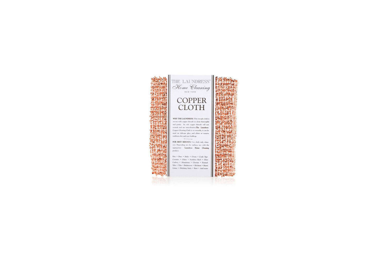 The Laundress Copper Cleaning Cloth