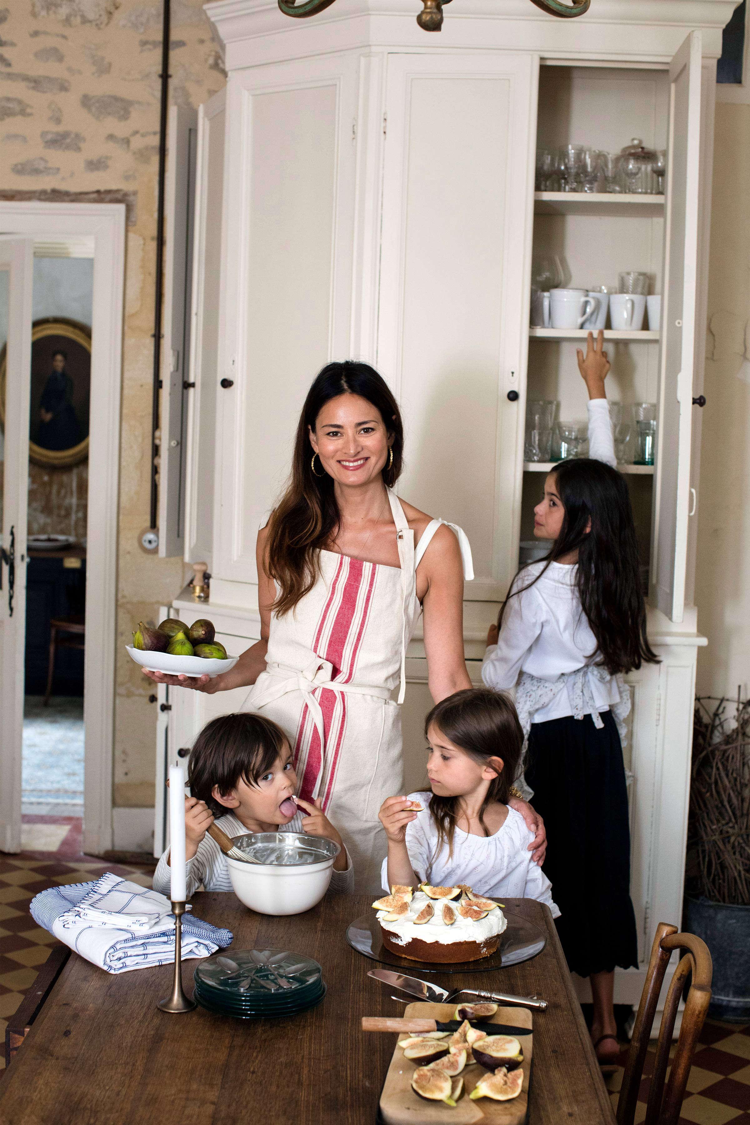 Mimi Thorisson at Home for Zara Home Kitchen Editorial